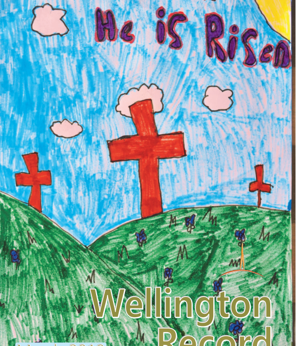 Wellington Record for March 2018